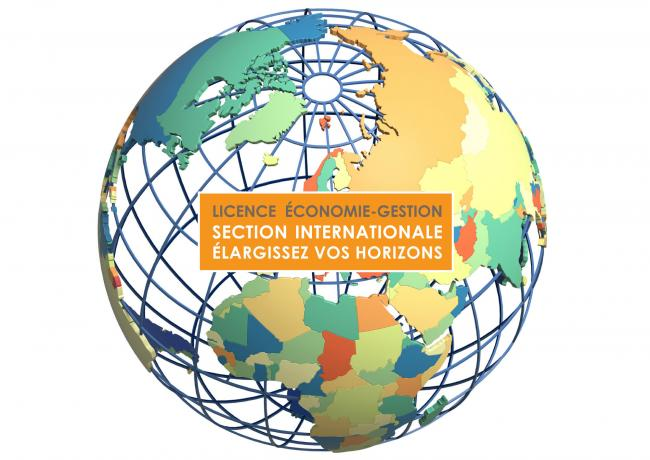 Licence Economie Gestion Section Internationale
